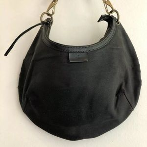 GUCCI Super vintage black shoulder hobo bag